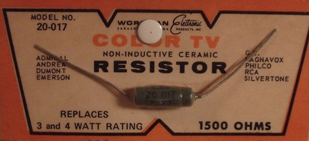 Workman Ceramic Resistor 15K Ohm