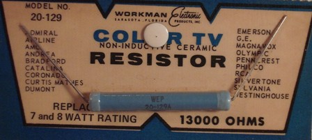 Workman Ceramic Resistor 13K Ohm 8 Watt