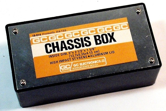 GC ELECTRONICS 16-014 CHASSIS BOX