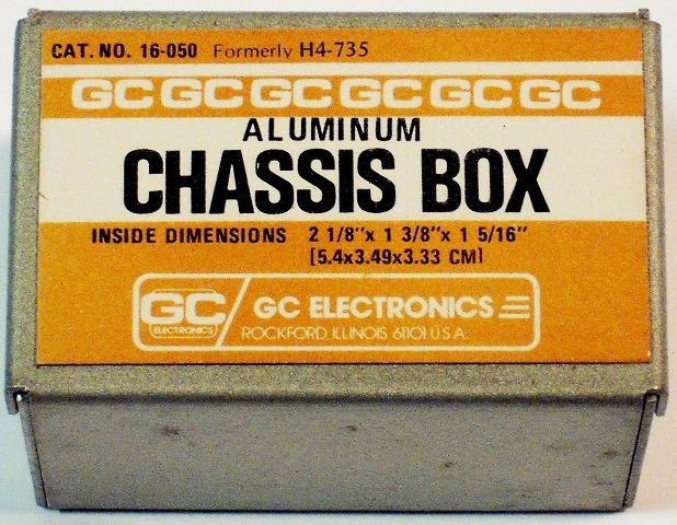 GC ELECTRONICS 16-050 CHASSIS BOX