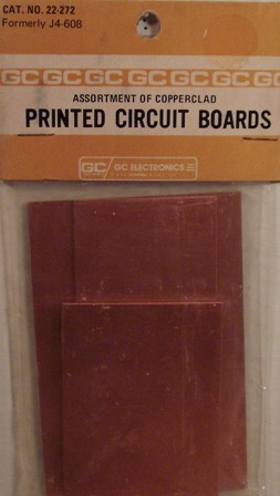 GC Electronics 22-272 Assortment of 4 one sided boards