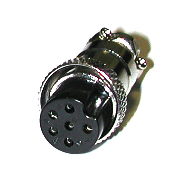 6-PIN MIC CONNECTOR