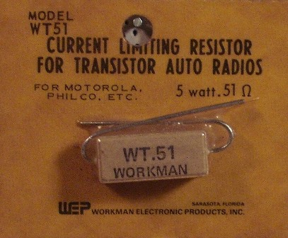 Workman 5 W Current Limiting 0.51 Ohm