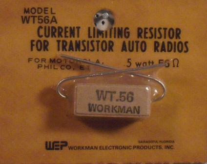 Workman 5 W Current Limiting 0.56 Ohm